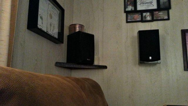 my surround speakers