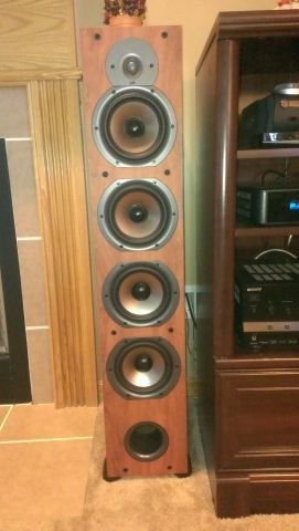 Polk audio monitor 75t