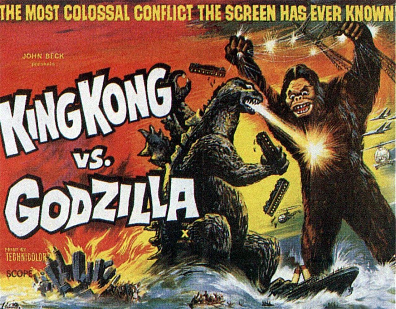 King Kong vs Godzilla (2017 Edition) - Movies (Theatrical ...