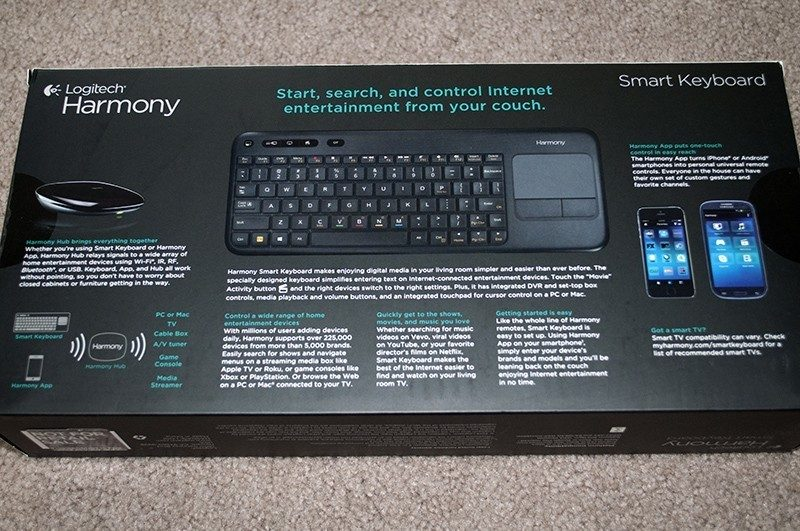 Hardware Review - Logitech Harmony Smart Keyboard: HTF Review