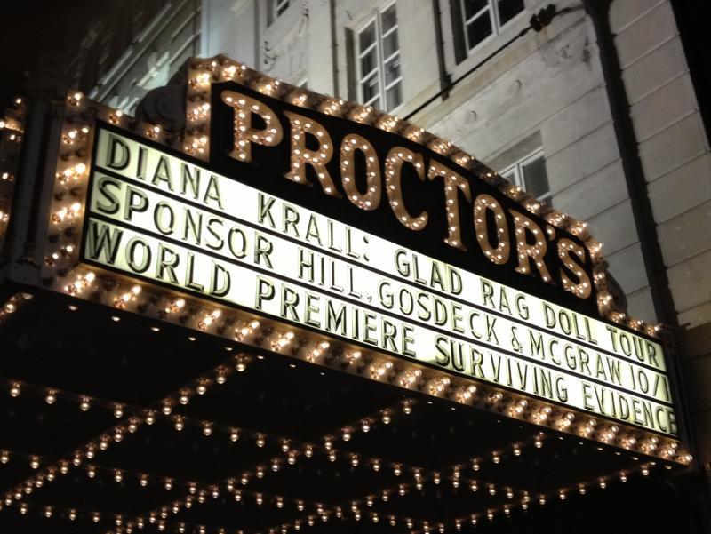 Diiana Krall Proctors Marquee 10-1-2013.jpeg