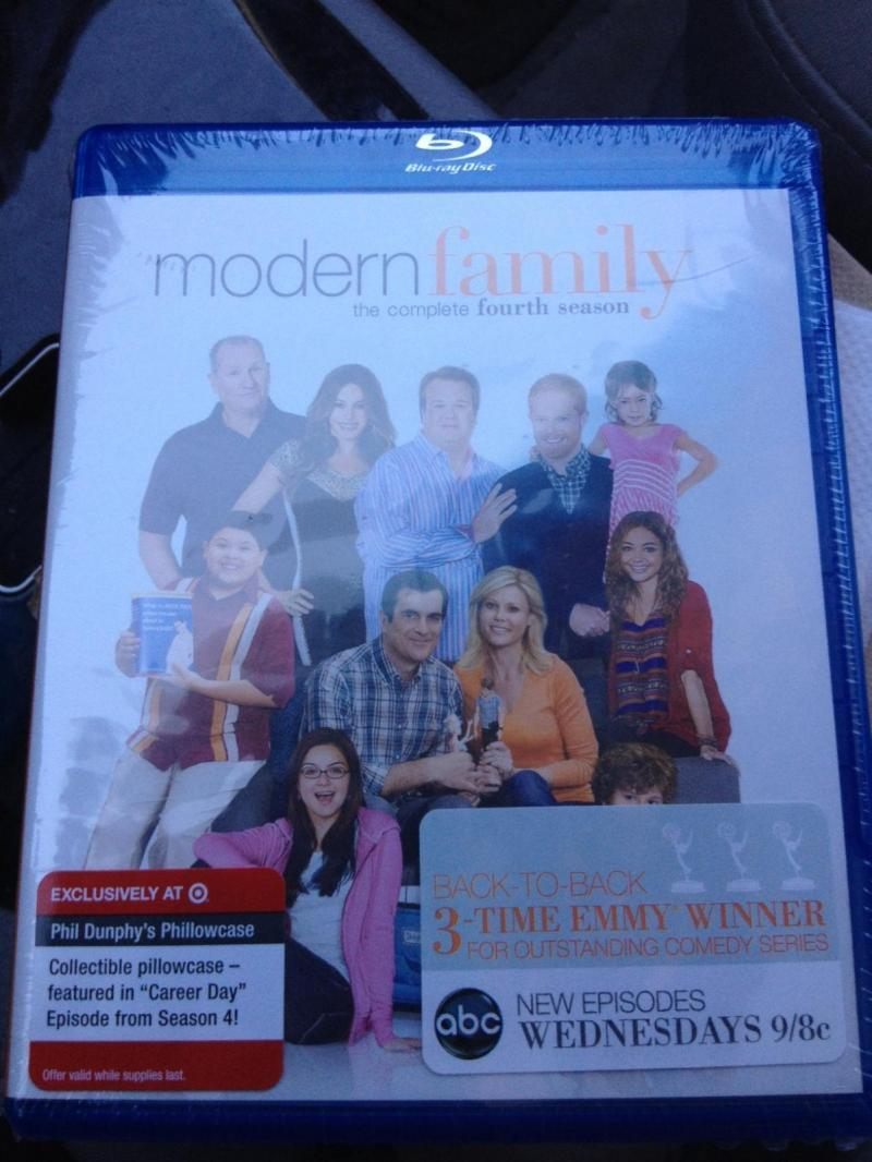 Modern Family Season Four Phillowcase.JPG