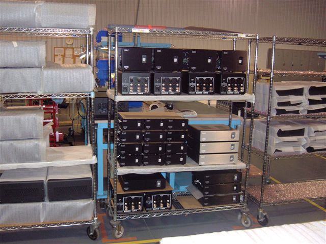 Some smaller 2 and 3 channel D-Sonic Amplifiers