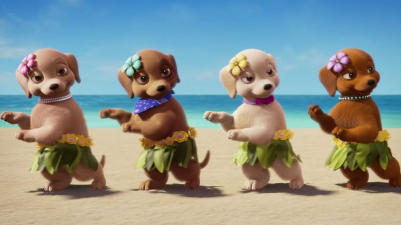 Barbie & Her Sisters in A Puppy Chase Blu-ray Review