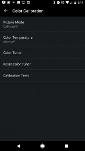 Vizio SmartCast App Calibration