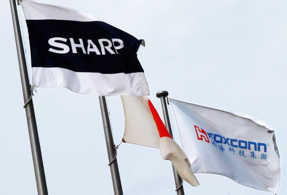 Foxconn and Sharp To USA
