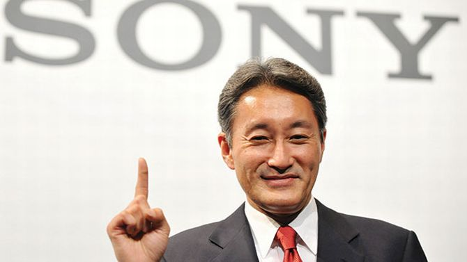Sony's Boss Is In Town