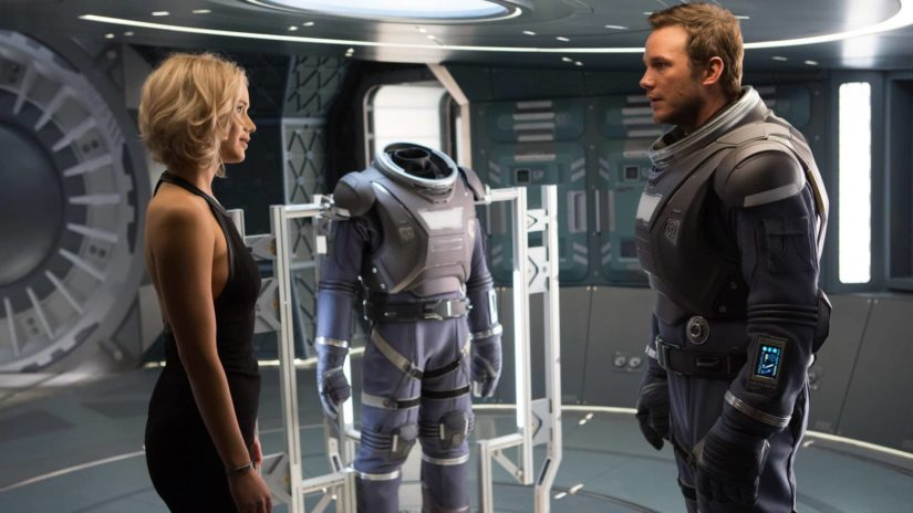 Passengers (2016) UHD and 3D Blu-ray Review
