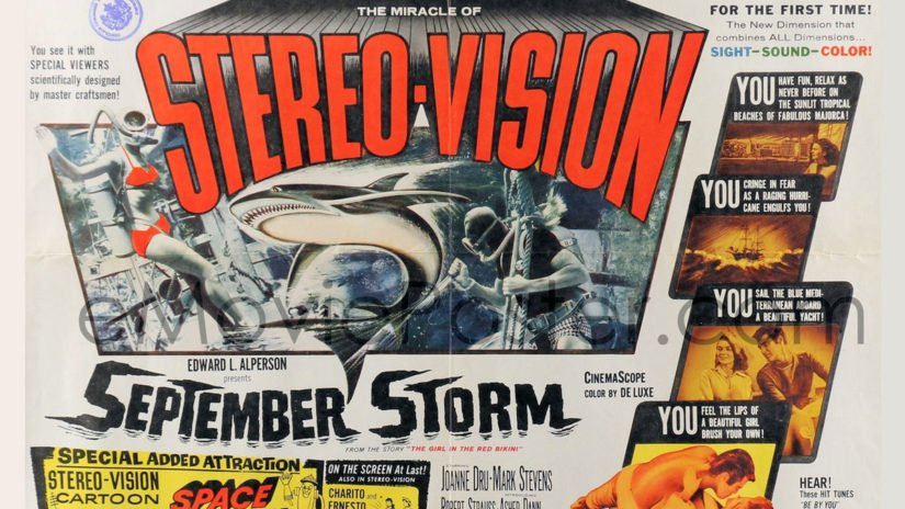 September Storm 3D Blu-ray Review