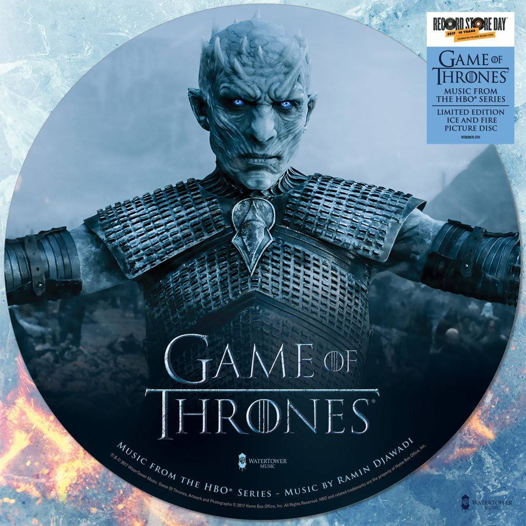 Game Of Thrones Season 7 Double Vinyl Soundtrack And