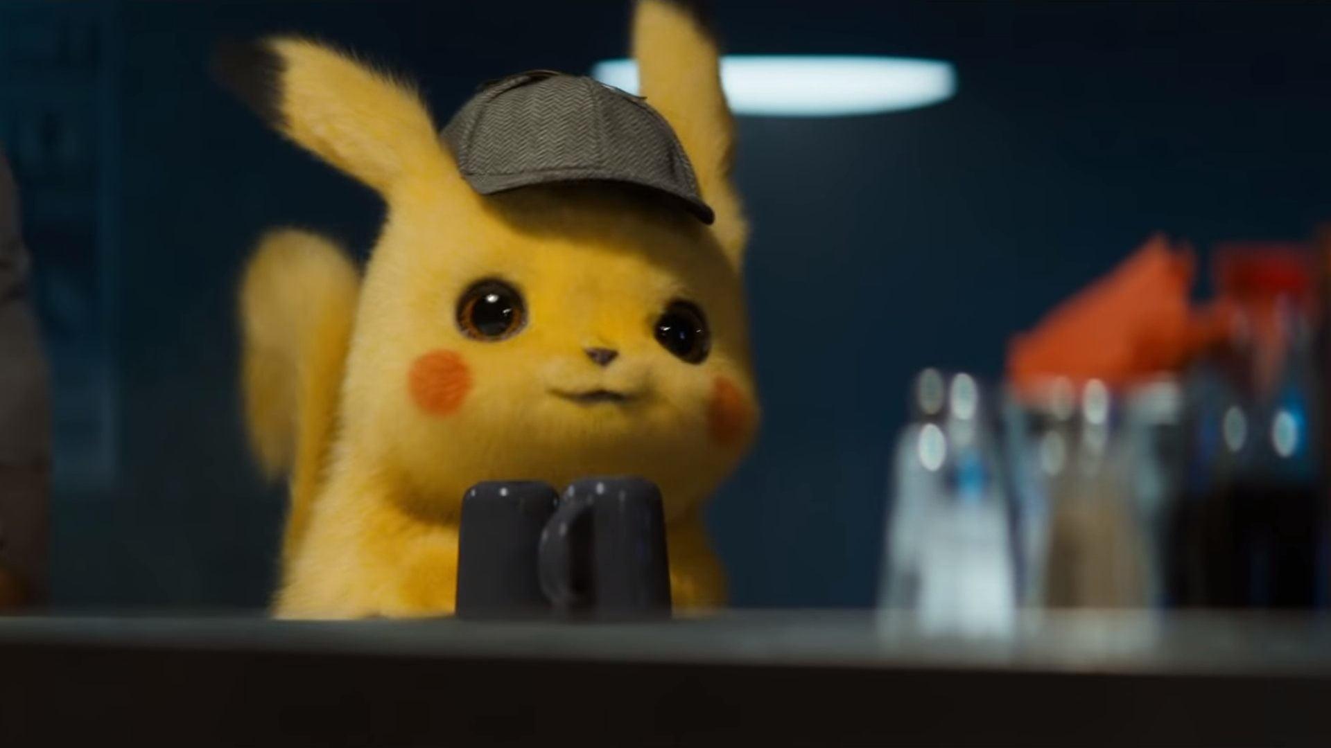 Pokemon Detective Pikachu Wallpaper 4k