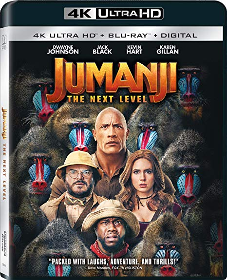 Jumanji The Next Level Uhd Review Home Theater Forum Home Theater Forum