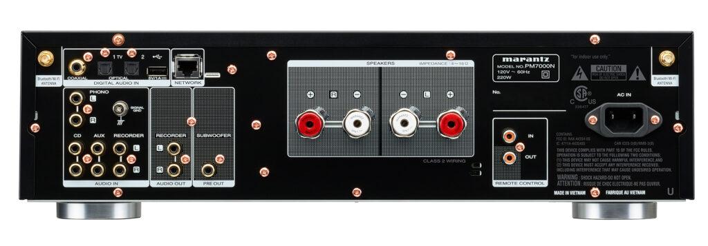 Marantz PM7000N Rear Panel